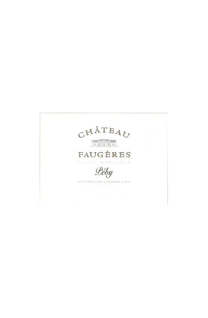 CHATEAU FAUGERES CUVEE SPECIAL (Peby) 2007